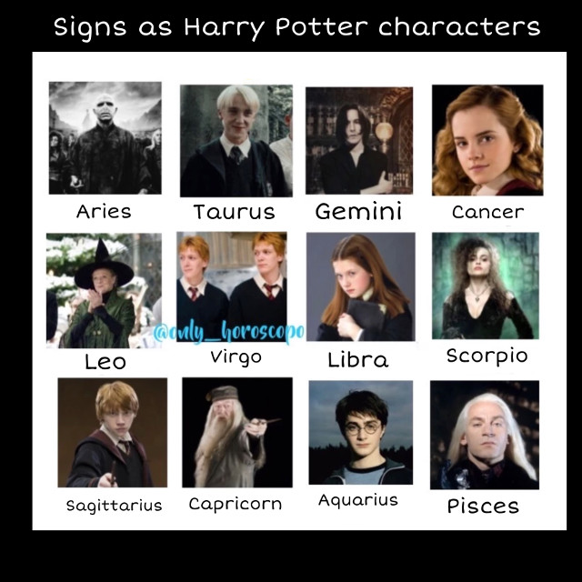 #harrypotter #horoscope #zodiacs  Go follow @only_horoscopo