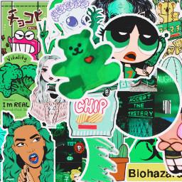 green greenaesthetic greenery greenleaves freetoedit