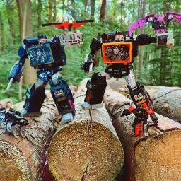 transformers soundwave soundblaster ravage laserbeak freetoedit
