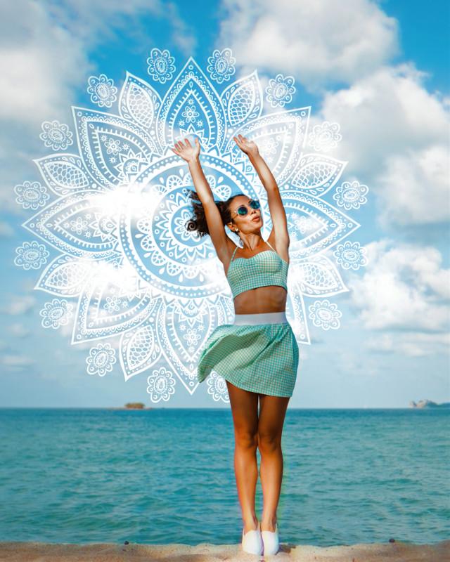 #freetoedit #mandala #yogi #summer