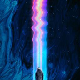 freetoedit surreal sky fluid bluefluid