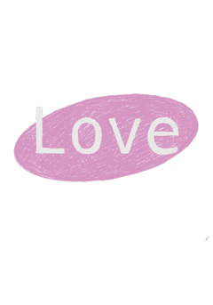 freetoedit love text pink