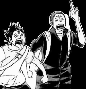#anime #weeb #manga #blackandwhite #drawing  #freetoedit #haikyu #haikyuu #tanaka #noya #nishinoya #nishinoyayuu #tanakaryuunosuke