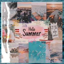freetoedit ccsummermoodboard summermoodboard #summertime