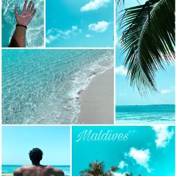 freetoedit summer summervibes maldives travelphotography ccsummermoodboard summermoodboard #summertime