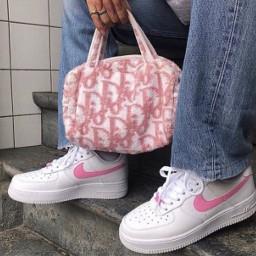 dior aesthetic pink af1