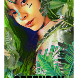 freetoedit greenday girl beauty portrait