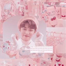 yeonjun txt tomorrowxtogether pink soft freetoedit