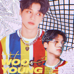 wooyoung jungwooyoung ateez ateezwooyoung kpop freetoedit
