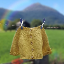 freetoedit knitwear summervibes babyclothes yellow