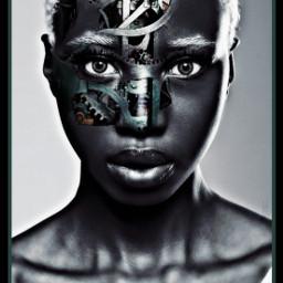 freetoedit gears nc86 girl cyborggirl