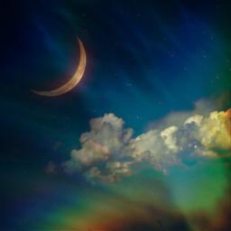freetoedit nightsky clouds