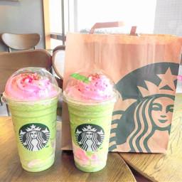 starbucks drinks colors aesthetic