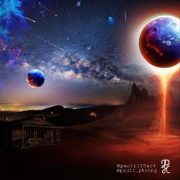 freetoedit galaxy surreal world ecsurrealisticworld surrealisticworld