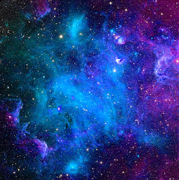 freetoedit space galaxy outerspace blue
