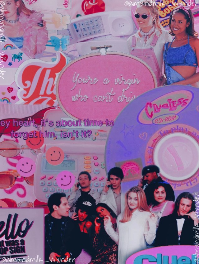 💋open💋                                                                                Ok so clueless is one of my alltine favorite movies, so i went back to the kinds of edits i used to make, to pay homage to the movie.                                                               Taglist: @bxtterfly_bxby 🌸