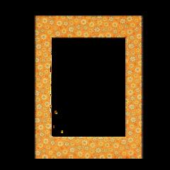 freetoedit frame yellow yellowaesthetic retro