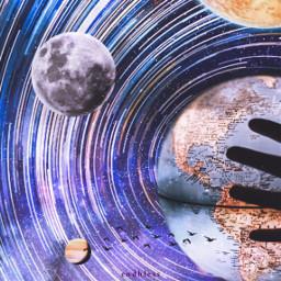 freetoedit space galaxy planet planets ecsurrealisticworld