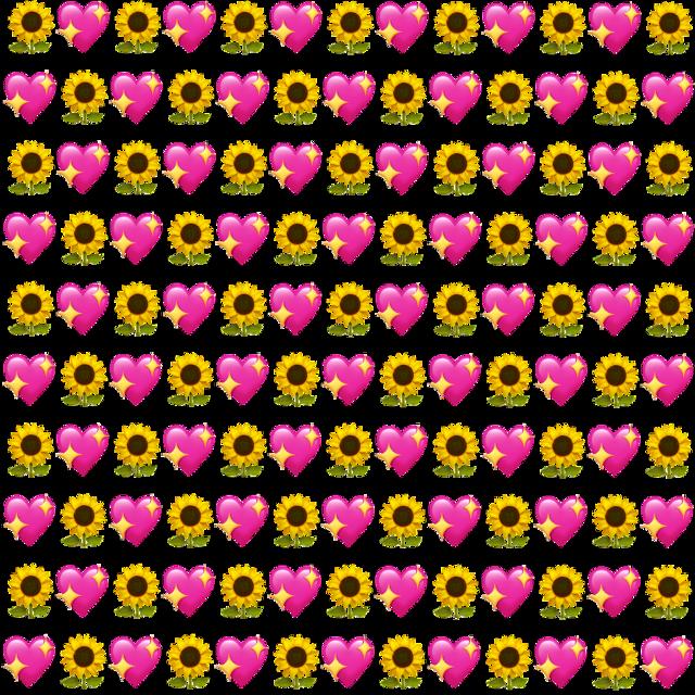 #freetoedit #emojibackground #background #emojibackgrounds #backgrounds #heartsandflowers #sunflower #flowers #flowerbackground #heartbackground