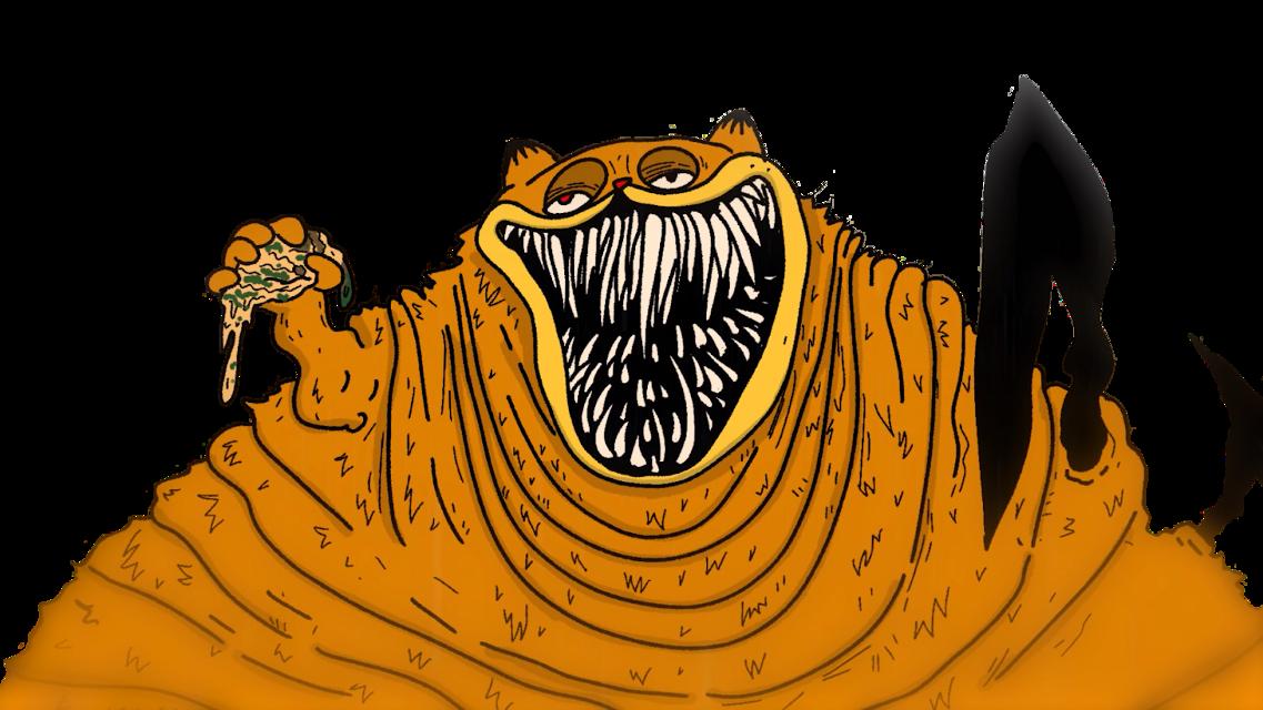 #freetoedit SCP-3166     #Gorefield #SCP #Garfield #ImSorryJon