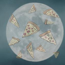 lune pizza🍕 pizza ecfastfoodemojibackgrounds fastfoodemojibackgrounds