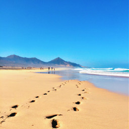 corfetebeach fuerteventura spain travel beach