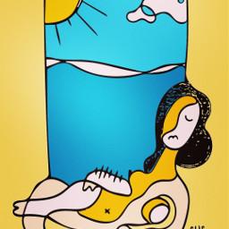 summervibes brasil angel kawaii portrait freetoedit