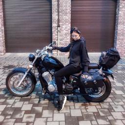 bike biker bikergirl girl motorcycle freetoedit