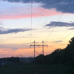 sunset night summer summervibes