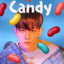 freetoedit baekhyun candy kpopedit idol