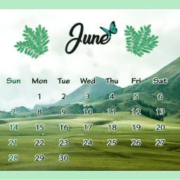 freetoedit srcjunecalendar junecalendar #summertime