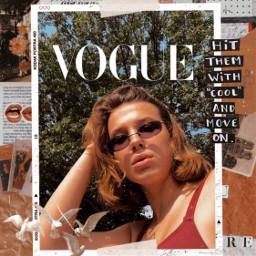 milliebobbybrown vogue magazines aesthetic vintage freetoedit