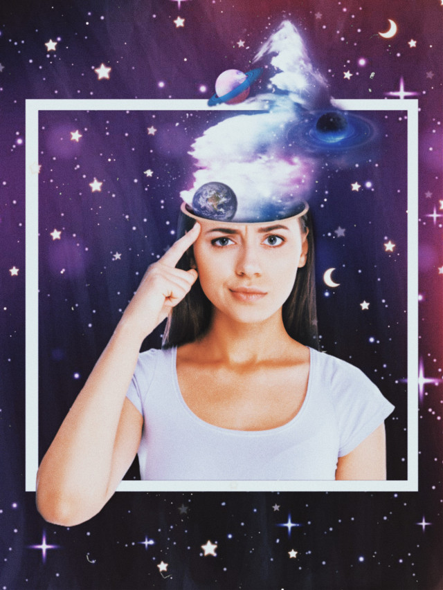 #replay #portrait #girl #mind #freetoedit #starry #universe #planets #neon