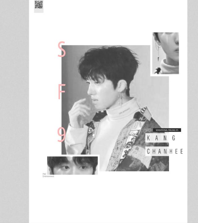 Chani//SF9 _ _ #sf9 #kangchanhee #chani #cute #black&white #black #white #sensationalfeeling9 #fantasy #maknae #magazine #aesthetic #chanhee