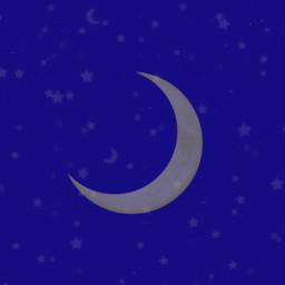 freetoedit moon stars background invitation