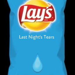 freetoedit sad food tears layschips