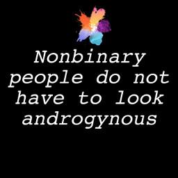 nonbinary nonbinarypride genderfluid trans agender