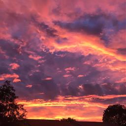 freetoedit mycity beautiful sunset trees pcmyhometown myhometown