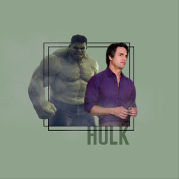 thehulk hulk bruce banner brucebanner freetoedit