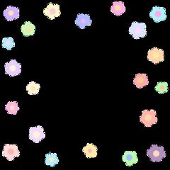 softcore border flowers softgirl softaesthetic freetoedit