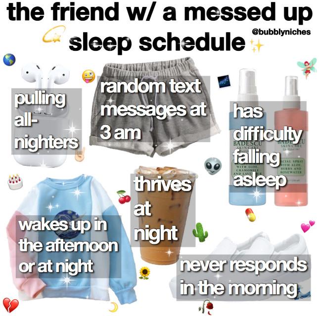 ✧・゚: *✧・゚:*(*❦ω❦)*:・゚✧*:・゚✧  。°。°。°。°。°。°。°。°。°。°。°  ᴄᴀᴘᴛɪᴏɴ: this post is dedicated to my bff who has a messed up sleeping schedule lmao. overall, i like this post, but it's not my favorite. alsooo, i am thinking about creating a new caption and making a theme? (probably not making a new niche meme theme bc i'm lazy and i'm still trying to get used to making niche memes) yuh, that's all i have to say  。°。°。°。°。°。°。°。°。°。°。°  ᴇᴅɪᴛ ɪɴғᴏ:  ᴇᴅɪᴛ: niche ᴛɪᴍᴇ ᴛᴀᴋᴇɴ: 1 hour ᴀᴘᴘ(s): pinterest, superimpose, phonto, & picsart ᴄʀᴇᴅɪᴛ(s): n/a  。°。°。°。°。°。°。°。°。°。°。°  ʟɪғᴇ ɪɴғᴏ:  ᴅᴀᴛᴇ: 6/10/20 ᴛɪᴍᴇ: 12:20 am ᴡᴇᴀᴛʜᴇʀ: 🌙 ᴍᴏᴏᴅ:😴 ғᴏʟʟᴏᴡᴇʀ ᴄᴏᴜɴᴛ: 106 followers  。°。°。°。°。°。°。°。°。°。°。°  ᴛᴀɢs: #niche #memes #friend #friends #friendship #bff #sleep #schedule #nichememe #bffs #nm #niches #nichepage #nicheacc #nicheaesthetic #aesthetic #nichememer #nicheedit #nichegirl #edits  #freetoedit