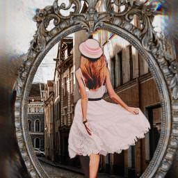 mirrow lady freetoedit ecmirrormirror mirrormirror