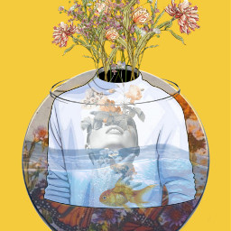 freetoedit fishtank flowers artwork coloring
