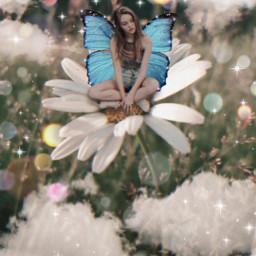 replay fairytale girl portrait freetoedit