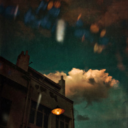 cloud street mobilephotography streetlight