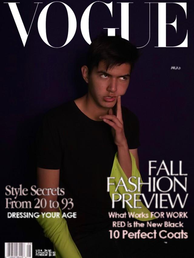 #freetoedit #vogue #coverpage #magazine