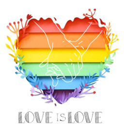 freetoedit loveislove love rainbow hands