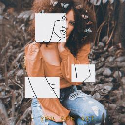 freetoedit aesthetic girl sketcheffect ✏️ 1994