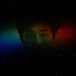 kpop rainbow replay colour picsart freetoedit