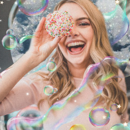 freetoedit bubble bubblestickerremix asthetic noise
